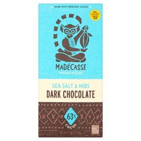 Madécasse Sea Salt & Nibs Dark Chocolate