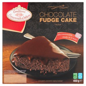 Coppenrath & Wiese chocolate fudge cake