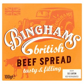 Binghams beef spread