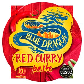 Blue Dragon Thai Red Curry Paste Pot