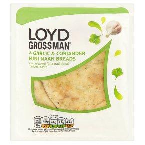 Loyd Grossman garlic mini naans