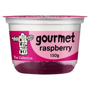 The Collective Raspberry Gourmet Live Yoghurt