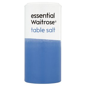 essential Waitrose table salt