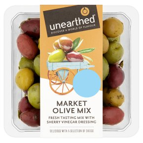 Unearthed market olive mix