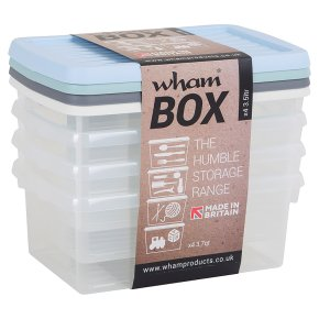 Wham Box Set of 4 Pastels