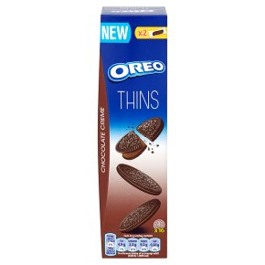 Oreo Thins Chocolate Biscuits