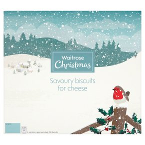 Waitrose Christmas Savoury Biscuits for Cheese