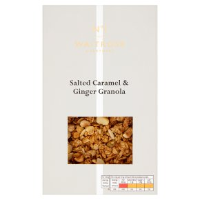 No.1 Salted Caramel & Ginger Granola