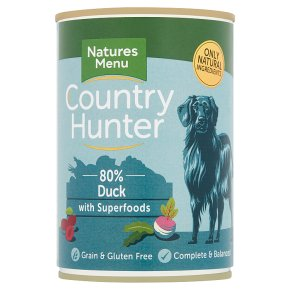 Country Hunter Duck with Fruit & Veg