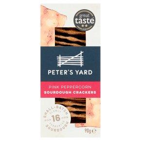 Peter's Yard Pink Peppercorn Sourdough Crispbread
