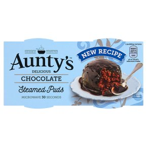Aunty's Chocolate Steamed Puds