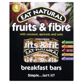 Eat Natural fruits & fibre coconut breakfast bars