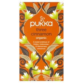 Pukka Three Cinnamon 20s