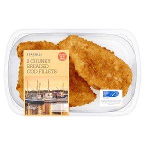 Seachill 2 Chunky Breaded Cod Fillets