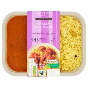 Waitrose LoveLife Calorie Controlled chicken tikka masala with pilau rice