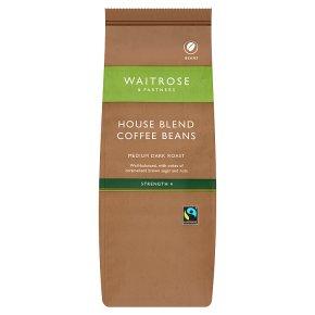 Waitrose Café House Blend Coffee Beans