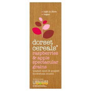 Dorset Cereals Spectacular Grains Raspberries & Apple