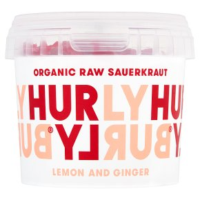 Hurly Burly Lemon and Ginger Raw Sauerkraut