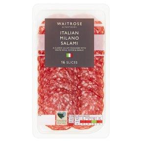 Waitrose Italian Milano Salami 16 slices
