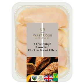 No.1 Corn Fed Chicken Breast Fillets 4s