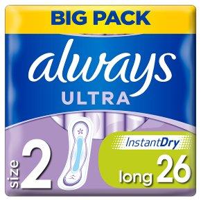 Always Ultra Pads Long 2