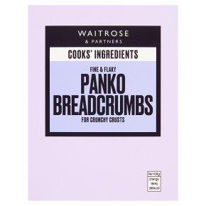 Waitrose Cooks' Ingredients panko breadcrumbs