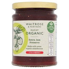 Waitrose Duchy Strawberry Preserve Extra Jam