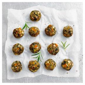 12 Pork, Butternut Squash & Chestnut Stuffing Balls