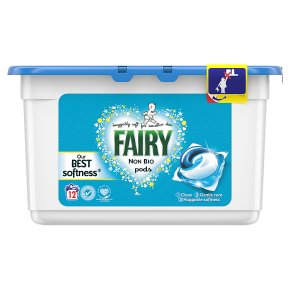Fairy Non-Bio Washing Capsules 12 Washes