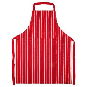 Waitrose Cooking red butchers stripe apron