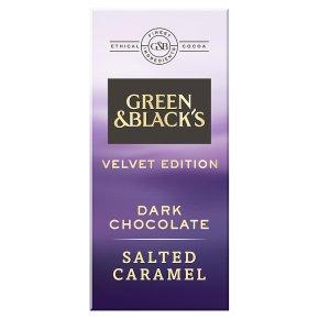 Green & Black's Velvet Edition Salted Caramel Dark Chocolate Bar