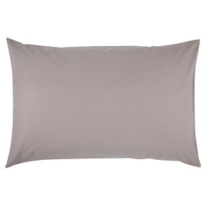 Waitrose Home flint Egyptian cotton pillowcase