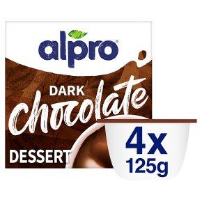 Alpro Soya Dark Chocolate Flavoured Dessert