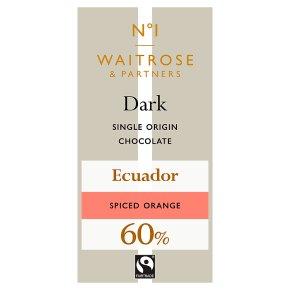 No.1 Dark Chocolate with Spiced Orange