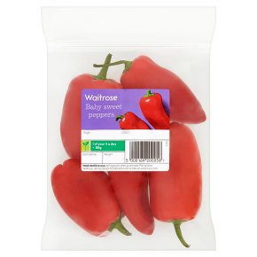 Sweet Baby Red Peppers