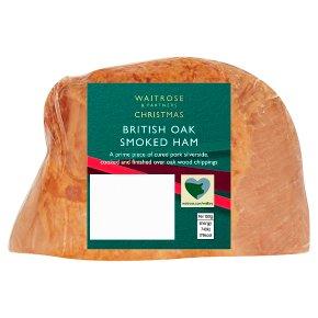 Waitrose Christmas Oak Smoked Ham