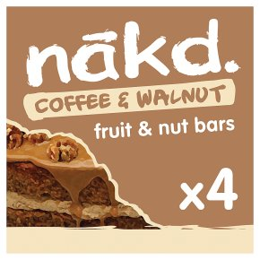 Nakd Coffee & Walnut Wholefood Bars