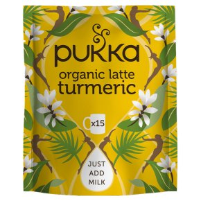 Pukka Organic Latte Turmeric Gold 15 Servings