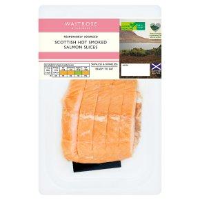Waitrose Hot Smoked Scottish Salmon Slices