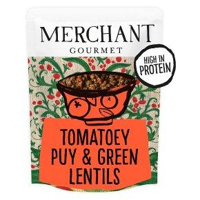 Merchant Gourmet puy lentils tomato & basil