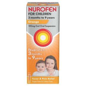Nurofen for children, orange flavour