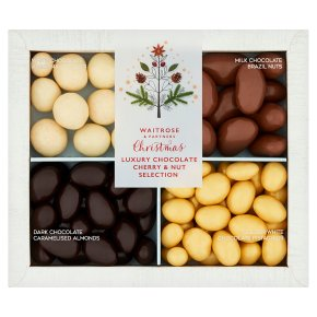 Waitrose Chocolate Cherry Nut Selection