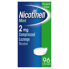 Nicotinell mint lozenge, 2mg