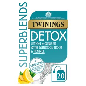 Twinings Superblends Detox 20s