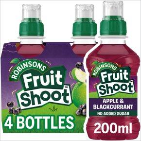 Robinsons Fruit Shoot low sugar blackcurrant & apple