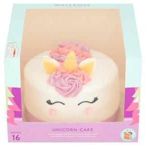 Super Waitrose Unicorn Celebration Cake Waitrose Partners Funny Birthday Cards Online Inifofree Goldxyz