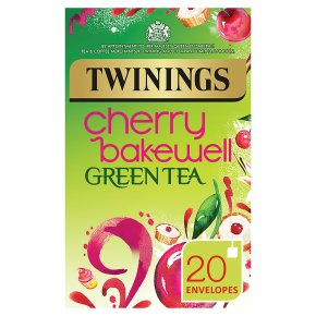 Twinings cherry bakewell green tea 20 teabags
