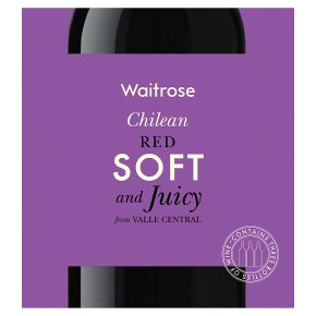 Waitrose Chilean Red Soft and Juicy