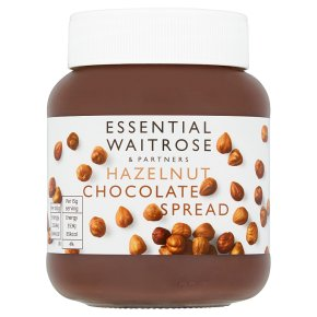 essential Waitrose Hazelnut Chocolate Spread