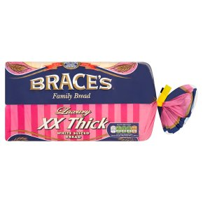 Brace's XX Thick White Sliced Bread